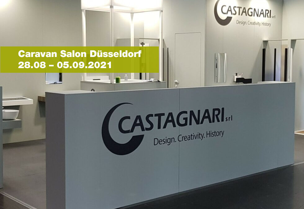 Caravan Salon Düsseldorf 28.08 – 05.09.2021
